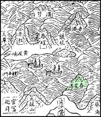Historic Map of Hong Kon