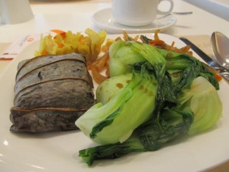 Breakfast varieties in City Garden Hotel Hong Kong