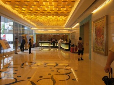 Lobby of City Garden Hotel Hong Kong