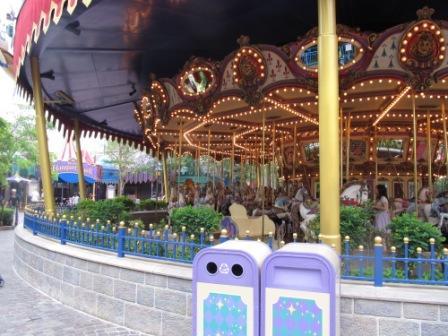 Cinderella Carousel in Hong Kong Disneyland Fantasyland
