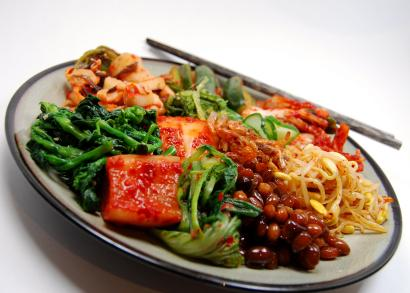 Plate of Korean Food, Appetize