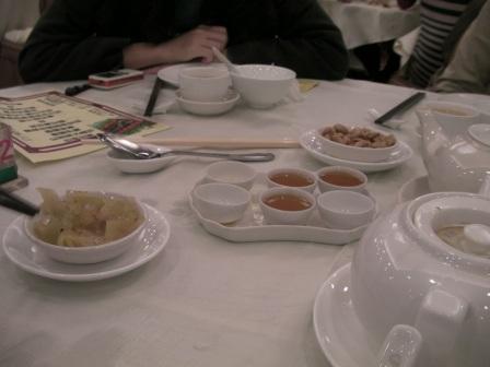 Kung Fu tea served in Hong Kong Chiu Chow restaurant