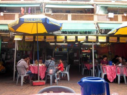 A seafood restaurant in Cheung Chau, Hong Kong