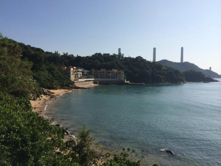 Lamma Island, Hong Kong power station