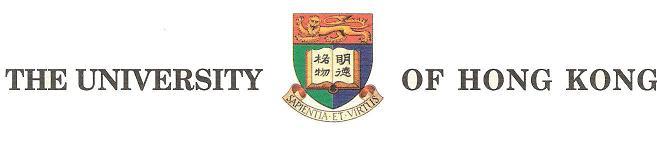 School badge of the HKU