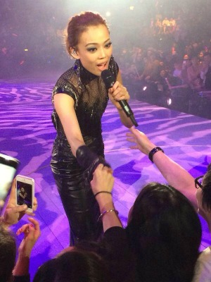 Many singers like Joey Yung becomes a singer, an actress and a Hong Kong movie star.
