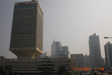 Chinese People's Liberation Army Force HK Building, Capital of Hong Kon
