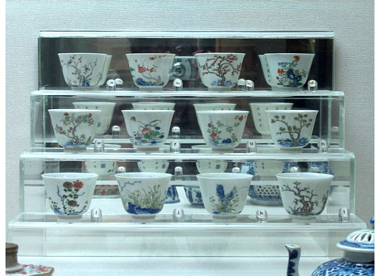 Front view of the Twelve Cups