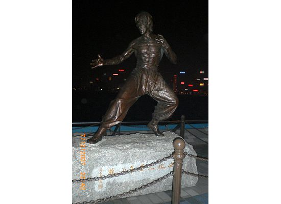 Statue of Bruce Lee