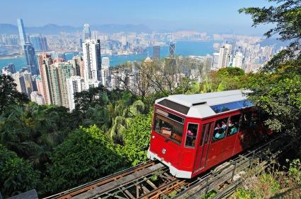 Hong Kong Victoria Peak Tram