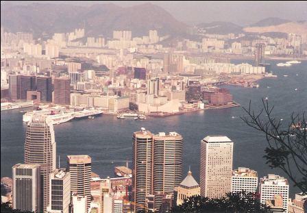 Hong Kong Skyline - Lookout from the Peak, Tsim Sha Tsui