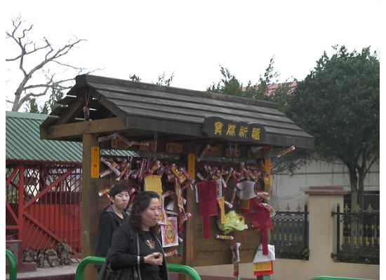 Hong ong Lam Tsuen Wishing Tree Worship