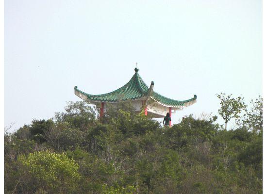 Hong Kong Lamma Island Wind Gazeb