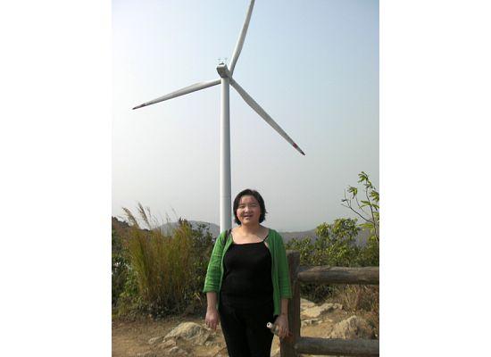 Lamma Island Wind and me 2009