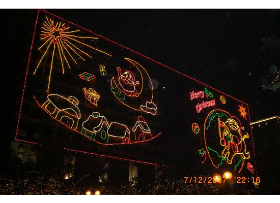 Christmas and Chinese New Year lighting is one of the annual entertainment to many Hong Kong people