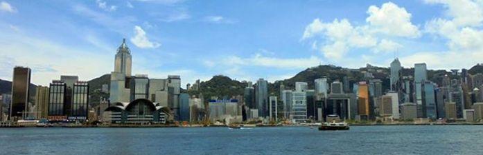 Hong Kong Skyline Daylight