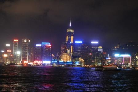 Hong Kong Skyline/Symphony of Lights in Wanchai
