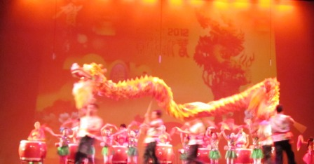 Nothing is better than watching the Chinese Dragon dance live.  The coordination of everybody in the performance is magnificent.
