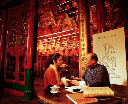 You will never miss the fortune telling part on Hong Kong TV during this time of the year.
