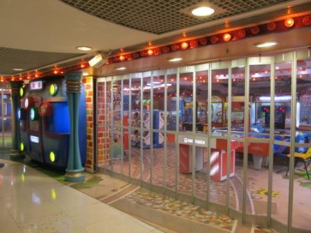 An children entertainment center which is very similar to Chuck E Cheese