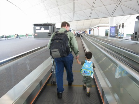 I was so worried how our trip going back to Hong Kong would be like with my little one.  It turned out one of the most memorable vacations and family visits we ever had.