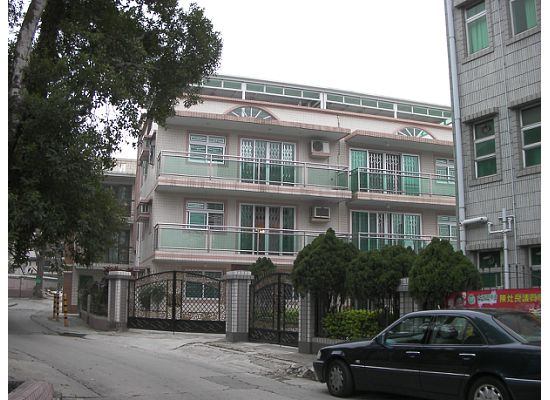 A re-built house in the New Territories