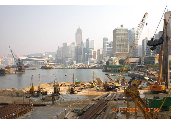 Hong Kong Land Reclaimation