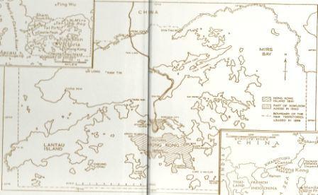 Old Map of Hong Kong