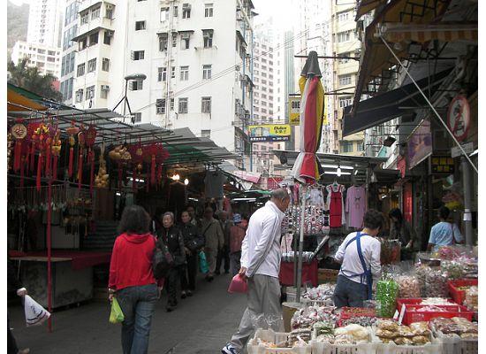 Hong Kong Wanchai Marke