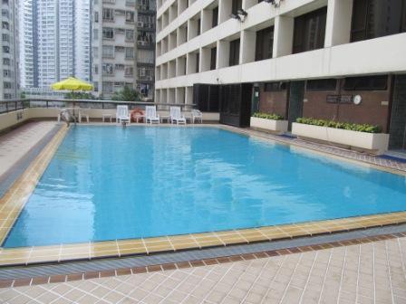 Swimming pool of City Garden Hotel Hong Kong