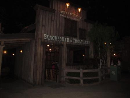 One of the attractions in Hong Kong Disneyland Grizzly Gulch