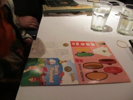 Hong Kong American Restaurants Food kid menu and activities