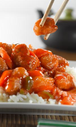 Hong Kong Cantonese food - Sweet and Sour Pork