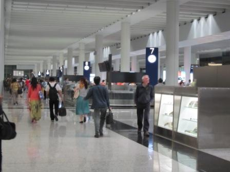 Carousels for luggage claim