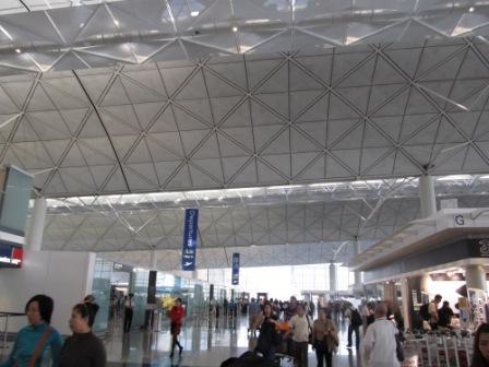 Departure gate - Goodbye, Hong Kong.  See you next time.