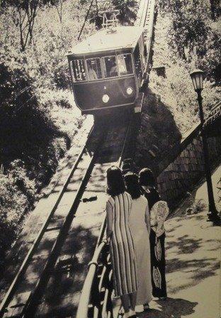 Hong Kong Old Victoria Peak Tram