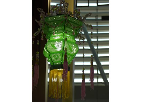 A small Chinese New Year lantern