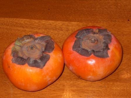 Persimmon, a popular fruit in Mid-Autumn Festiva