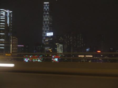 Early Hong Kong Christmas lighting