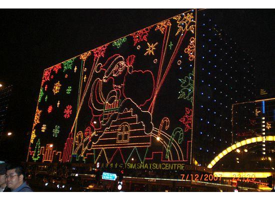 Hong Kong Christmas in Tsim Sha Tsui East
