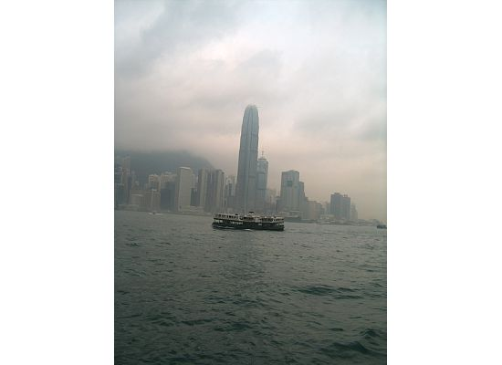 Hong Kong Star Ferry in the Victoria Harbou