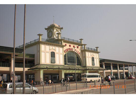 Hong Kong Star Ferry Central new pier