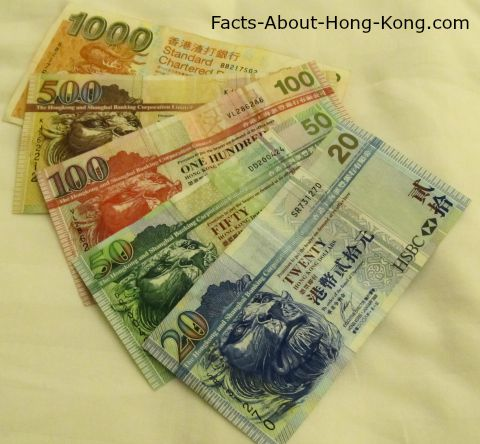 Hong Kong Bills (a.k.a. Banknote)