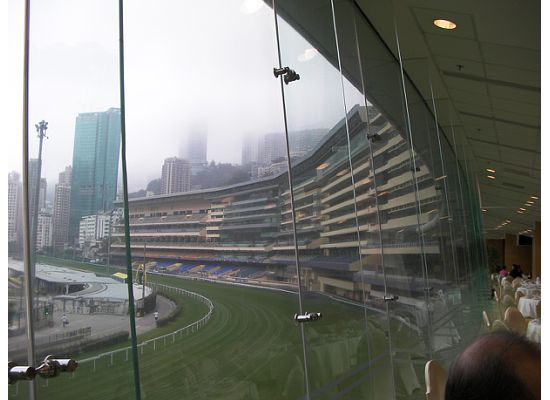 Another angle of Hong Kong Racing Course in Happy Valle