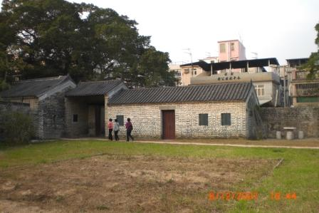 This is the place where animals were raised in the Tai Fu Tai Museum